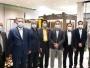بازدید فرماندار ساوه به همراه رئیس اداره صنایع استان مرکزی از کارخانه KWC